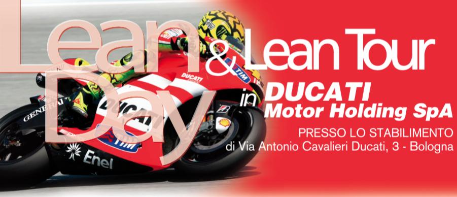 lean day lean tour ducati
